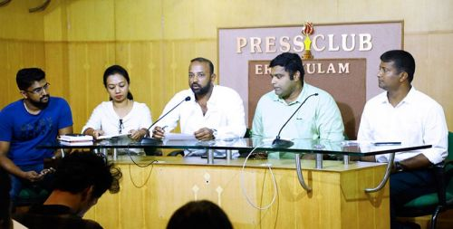 L-R Gloria Mahesh, G.S Joshy, Elias Thomas Paarel