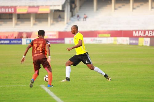 Krizo (in Yellow) will miss the game against East Bengal