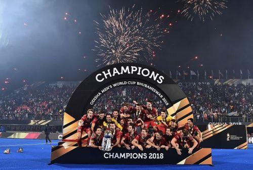 New World Champions in Hockey: Belgium