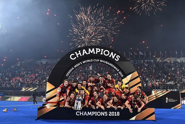 New World Champions in Hockey: Belgium