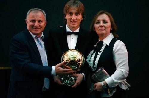 Luka Modric won the Ballon d'Or, breaking the stranglehold of Messi and Ronaldo