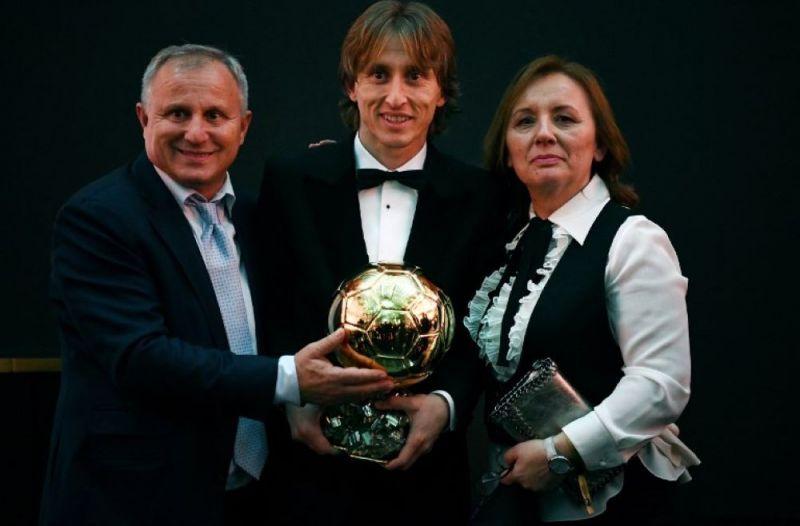 Luka Modric won the Ballon d