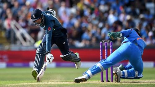 Dhoni is still as good a keeper as any