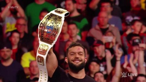 Finn Balor needs some gold . . .