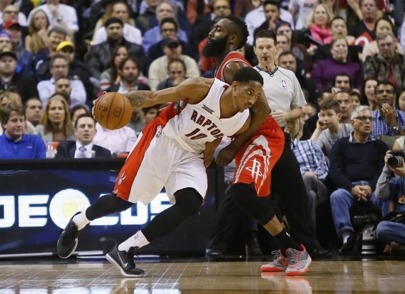 DeRozan scored 42 points to help the Raptors to a