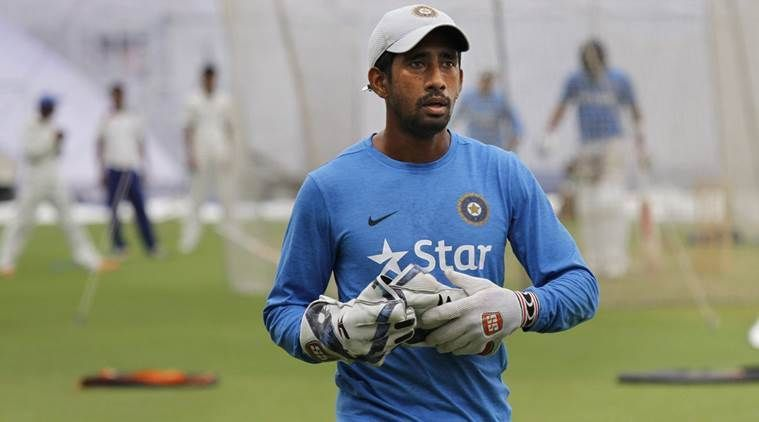 Wriddhiman Saha scored just 41 runs from his 9 ODI matches
