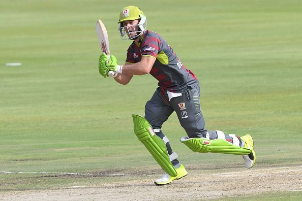 AB de Villiers playing for the Spartans