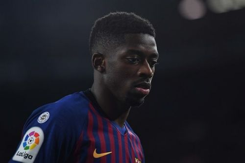 Ousmane Dembele has failed to reach expected levels at Barcelona