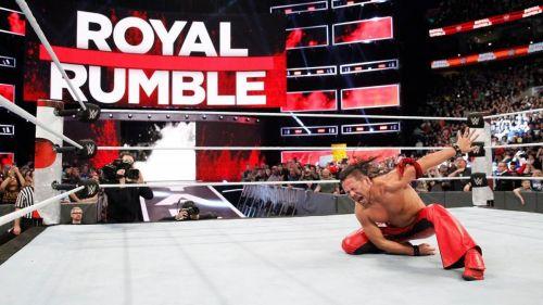 Shinsuke Nakamura won the 2018 men's 30-man Royal Rumble match