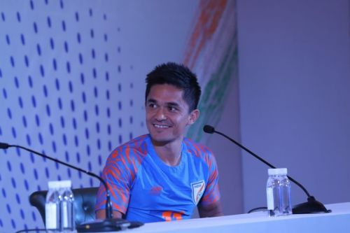 Sunil Chhetri, India forward