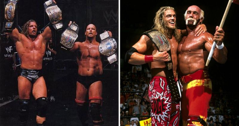 The Two-Man Power Trip and Hogan and Edge are just some of WWE