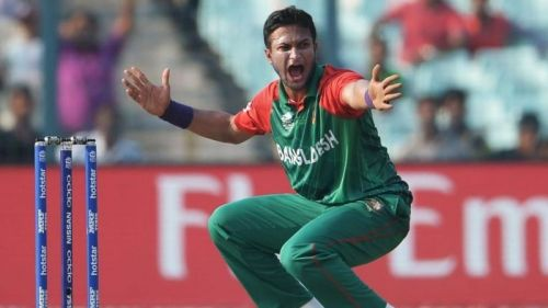 Shakib Al Hasan was adjudged