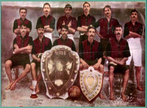 IFA Shield champion 1911 Mohun Bagan