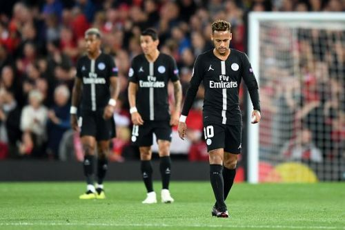 PSG failed to make an impact in the Champions League