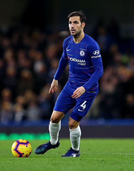 Fabregas is in the last six months of his contract with Chelsea