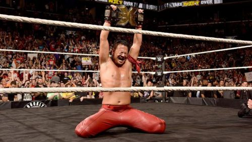 Nakamura's NXT Championship win in 2016 has been the highest point in his WWE Carrer