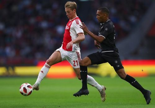 The proposed arrival of de Jong (left) could have a detrimental effect on the club's academy prospects