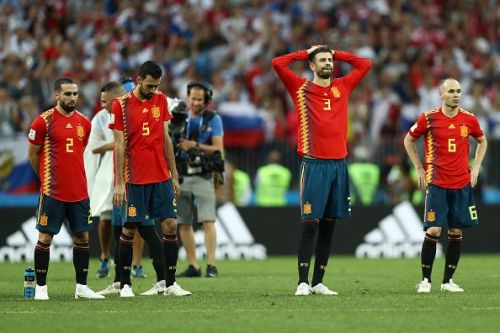 Spain's World Cup campaign began and ended in farce