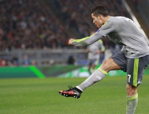 Ronaldo in action for Real Madrid