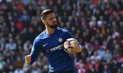 Olivier Giroud turned out to be the match winner for the Blues