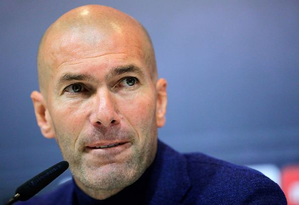 Zidane has been linked with Manchester United