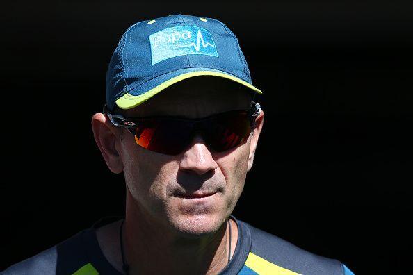 Justin Langer, Australia v India - 3rd Test: Day 1