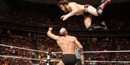 Cesaro probably has the best uppercut in the business