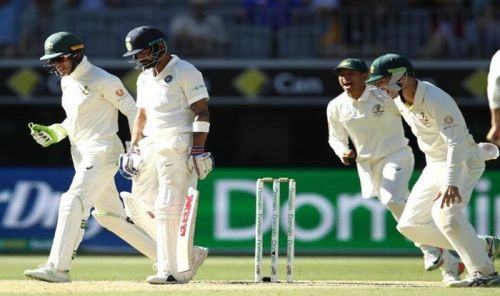 India is virtually out of the Perth Test
