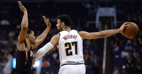 Jamal Murray was on a roll against the Phoenix Suns