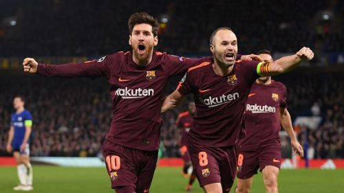 Andres Iniesta does not agree with Pele's assessment of Lionel Messi