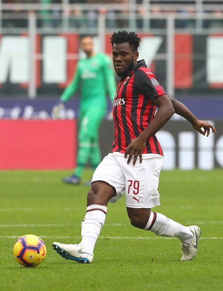 The absence of Frank Kessie will be a big blow to the Rossoneri