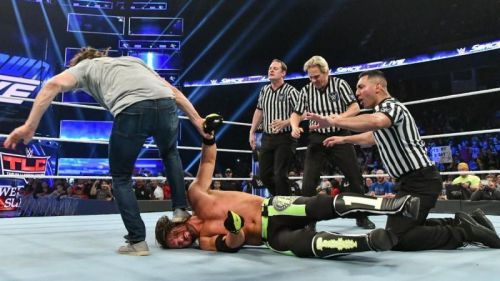 Daniel Bryan and AJ Styles