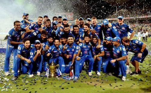 Mumbai Indians were the first team to win three IPL trophies.