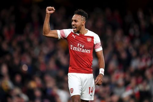 The Gabonese has spearheaded the Arsenal attack this season.