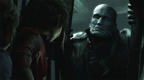 The terrifying Tyrant stalks Claire Redfield in the epic new trailer for Resident Evil 2