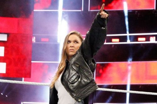 Ronda Rousey made her WWE debut this year at Royal Rumble 2018.