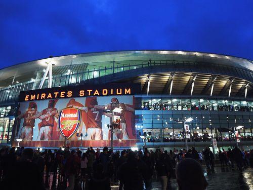 Emirates Stadium, North London, England.