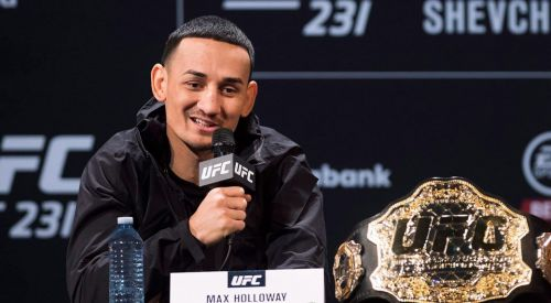 The Featherweight Champ is confident as ever