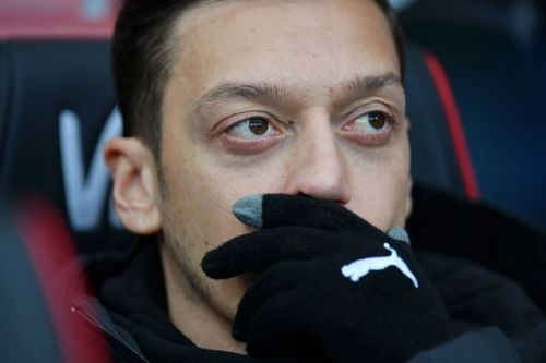 Mesut Ozil may sit this one out too due to a back injury