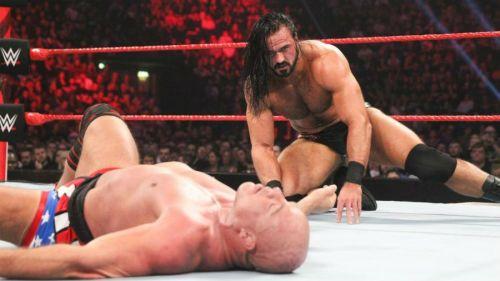 Kurt Angle and Drew McIntyre