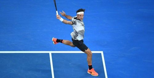 Federer's backhand is regarded as one of the most aesthetically pleasing shots in tennis