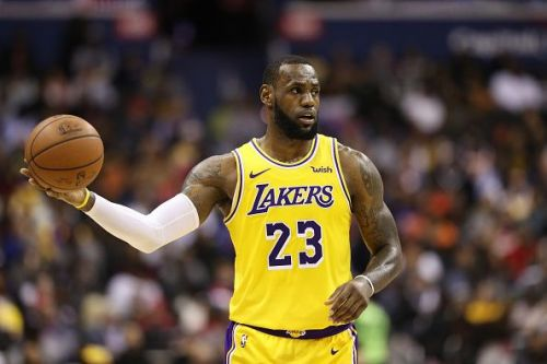 LeBron James and the Los Angeles Lakers travel to the Brooklyn Nets tonight
