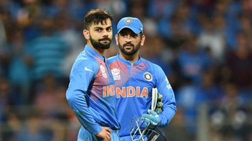 Image result for dhoni and kohli friendship