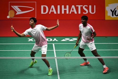 Chirag Shetty (left) and Satwiksairaj Rankireddy