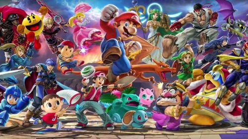 The diverse squad of Super Smash Bros. Ultimate