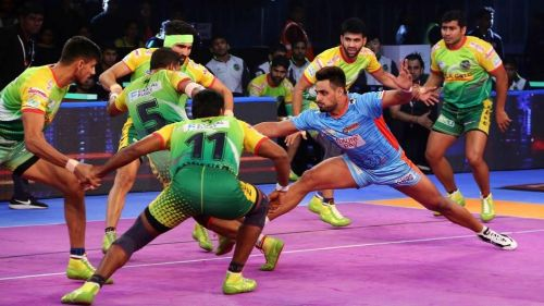 Maninder Singh scored 12 points for the Bengal Warriors