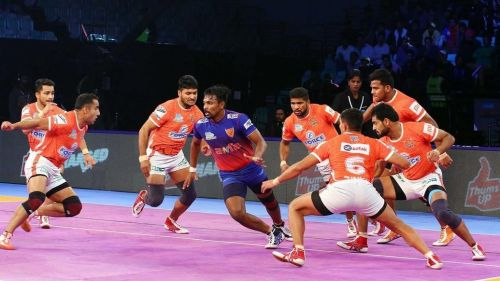 Puneri Paltan's defencewill have their work cut out against Patna Pirates