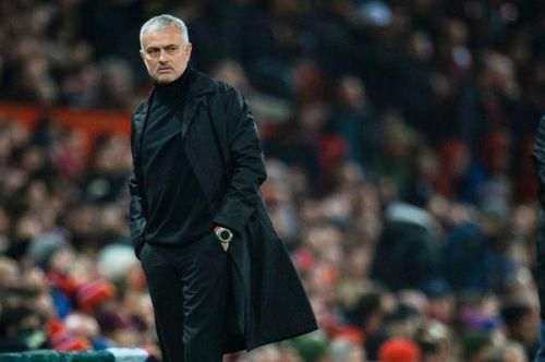 Jose Mourinho won't be at Manchester United dugout next time.