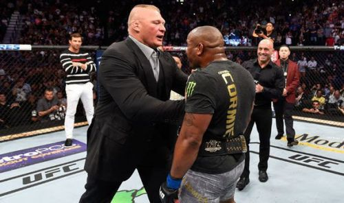 Will we really see Brock Lesnar vs. Daniel Cormier in 2019?