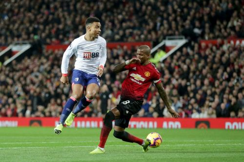 Manchester United hosted Bournemouth at Old Trafford.